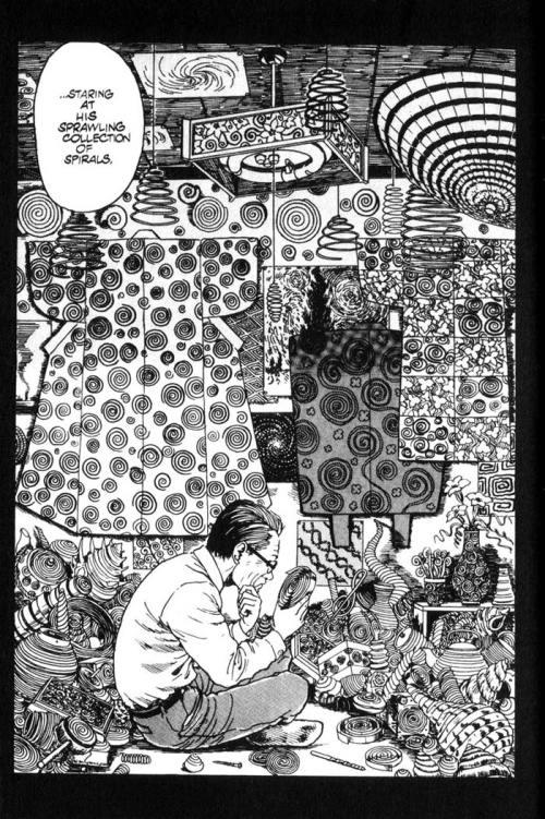 Uzumaki Junji Ito spirals