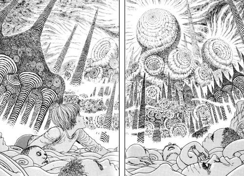Uzumaki Junji Ito cosmic horror