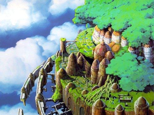 Laputa Castle in the Sky Tenkuu no Shiro Laputa Miyazaki Hayao