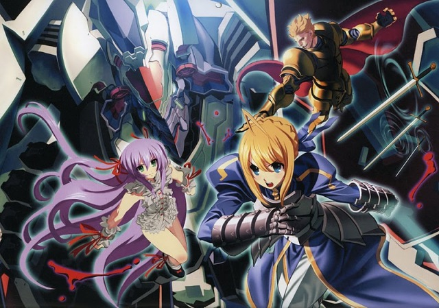 Toranoana Nitroplus Type-Moon Calendar Ito Ben Demonbane Fate Stay Night