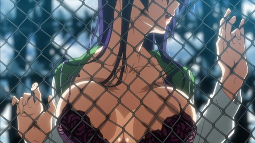 High School of the Dead Saeko Busujima opening