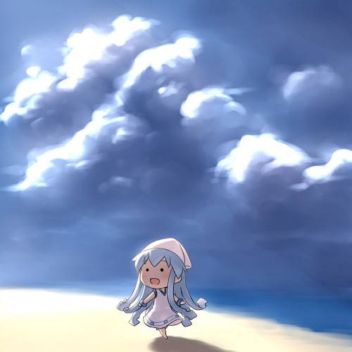 chibi ika musume rakugakio shinryaku! mini-ika squid girl