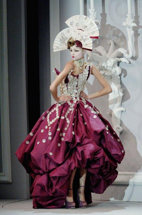 Dior Paris SS07 Haute Couture Magdelena Frackoqiak
