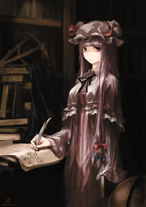 patchouli knowledge touhou jq