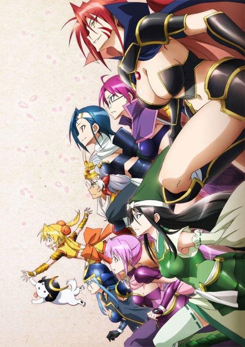 Sengoku Otome Momoiro Paradox Battle Girls characters