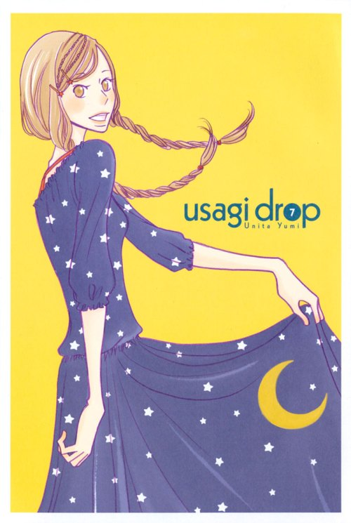 Usagi Drop Rin high school manga