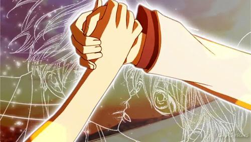 Ouran High School Host Club hand holding