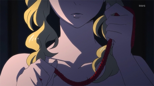 Mawaru Penguindrum Yuri shibari rape Ringo