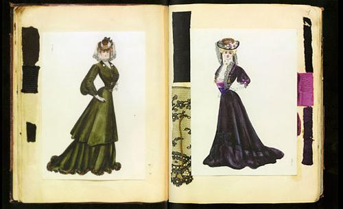 mono bosom Edwardian fashion