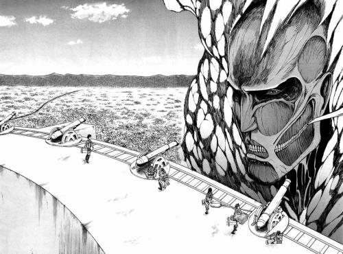 Shingeki no Kyojin colossal titan