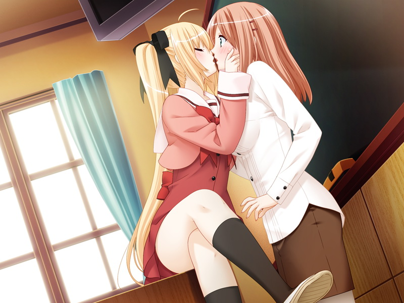 Фото аниме лесбиянок
