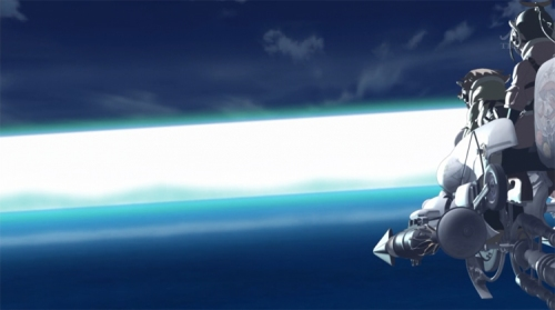 Last Exile Fam Silver Wing big weapon
