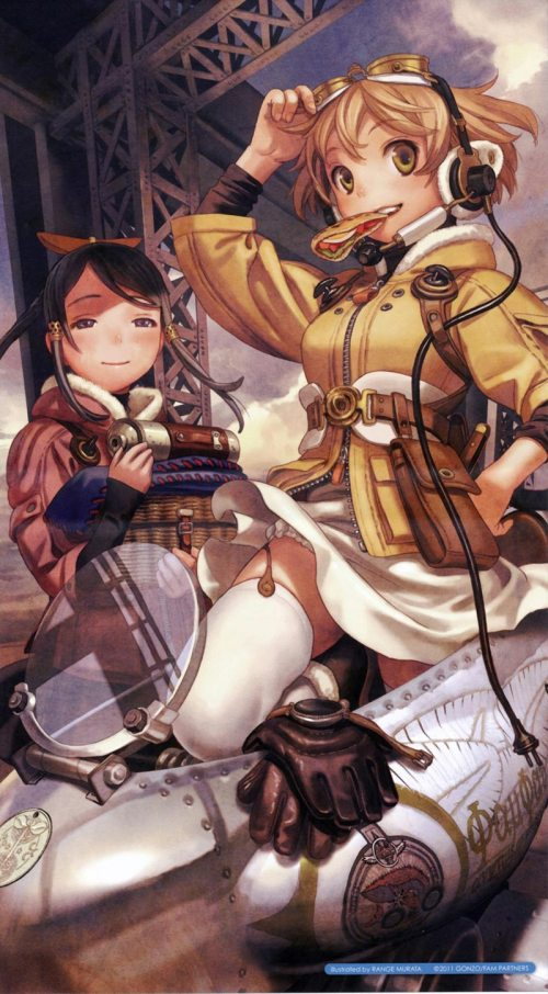 last exile fam the silver wing listless ink