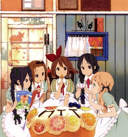 akiyama mio hirasawa yui k-on kotobuki tsumugi nakano azusa tainaka ritsu fairytale