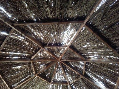 Dahab hut roof
