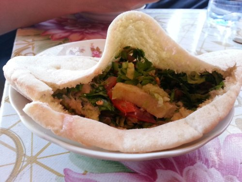 Egypt food falafel cheese