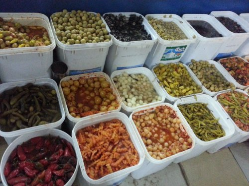 Egypt food pickles