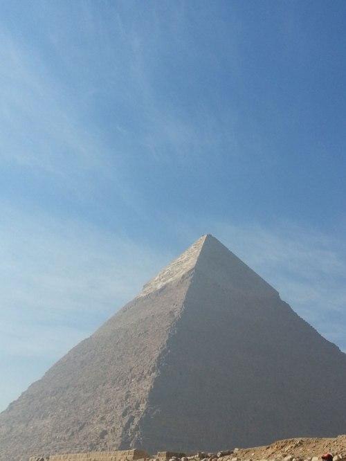 Giza Pyramid sky