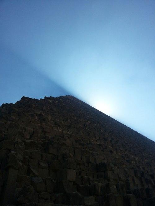 Giza Pyramid skyline