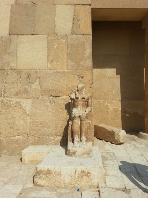Giza statue