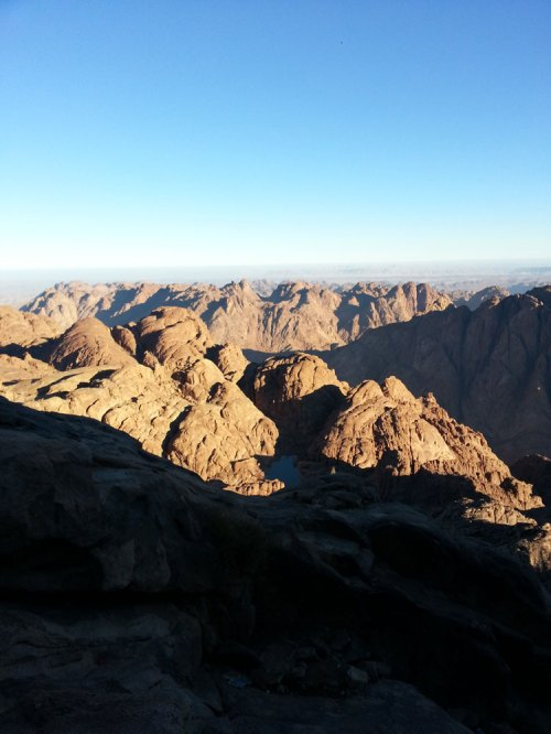 Mount Sinai mountain top