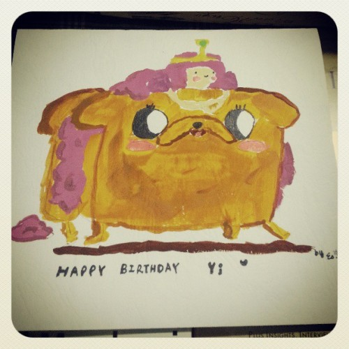 Birthday Yi Adventure Time