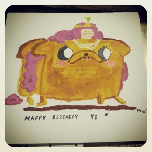Birthday Yi Adventure Time