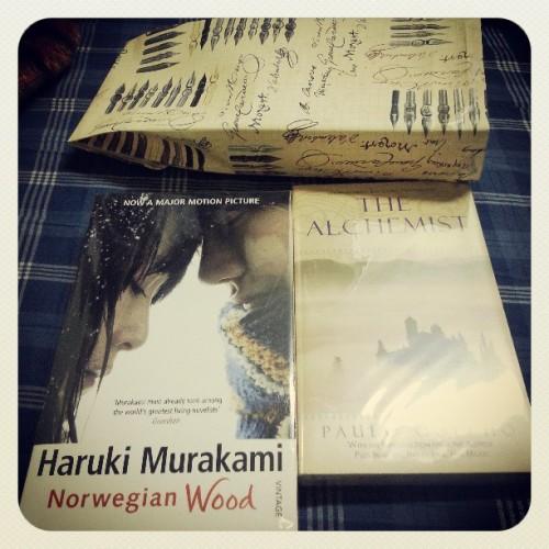 Birthday Yi Books Haruki Murakami Norwegian Wood Alchemist Paulo Coelho