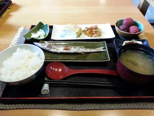 Jiufen Japanese breakfast