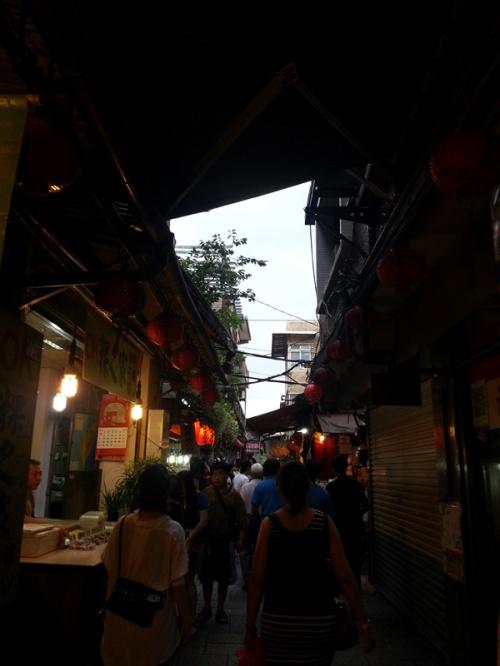 Jiufen streets